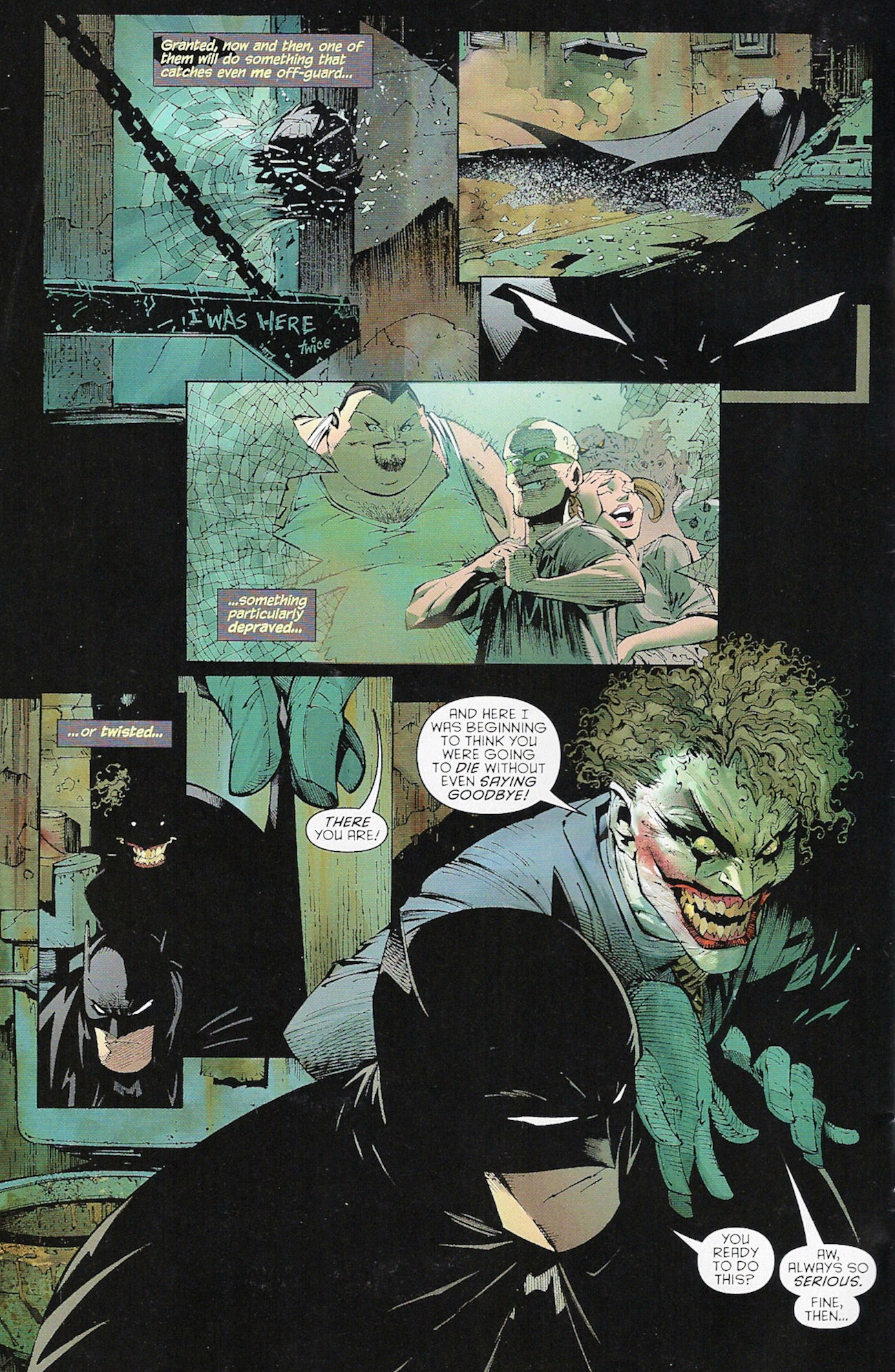 Batman Earth One Joker