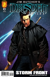 Jim Butcher's Dresden Files Storm Front Issue 1 Cover