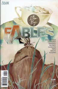 Fables issue 113 Cover