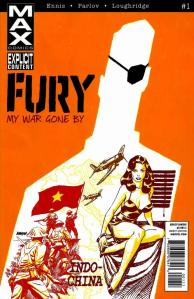 Fury Max Issue 1 Cover
