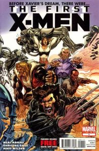 The First X-Men Issue 1 Cover