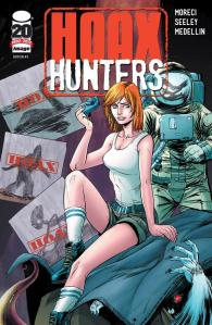 Hoax Hunters Issue 1 Cover