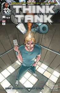 Think Tank Issue 1 Cover 1st printing