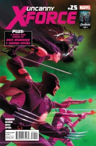 Uncanny X-Force Issue 25