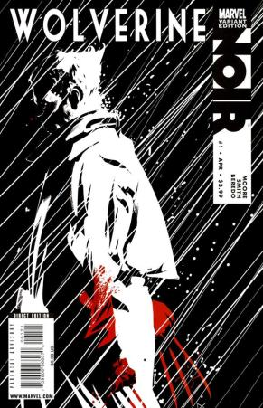 Alternate cover for Wolverine Noir Issue 1