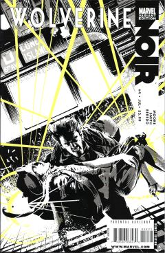Wolverine  Noir Issue 4