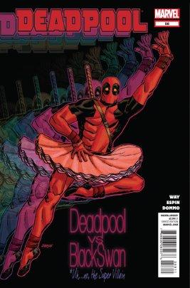 Deadpool in a tutu  title Deadpool vs Black Swan