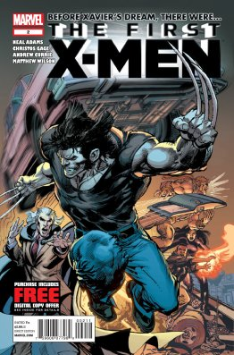 First XMen Issue 02 Cover