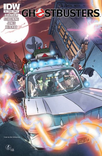 Ghostbusters Issue 1 Cover