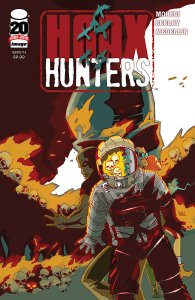 Hoax Hunters issue 4 cover