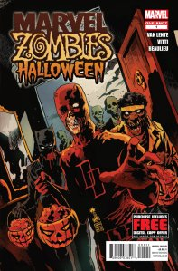 Marvel Zombies Halloween Special 2012 cover