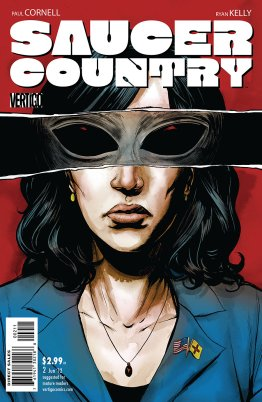 Saucer Country Issue 02 First Printing