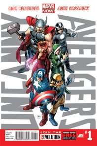 Uncanny Avengers issue 1 cover