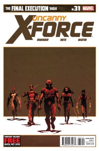 Uncanny X-Force issue 31 cover