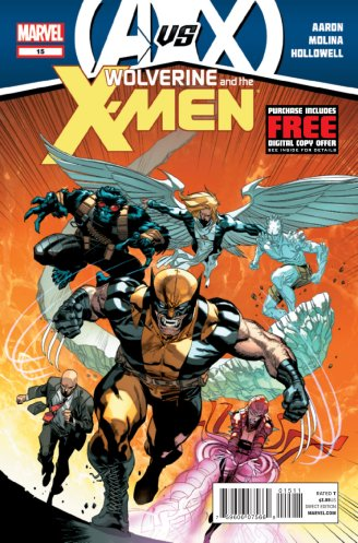 Wolverine and the X-Men Issue 15 Cover