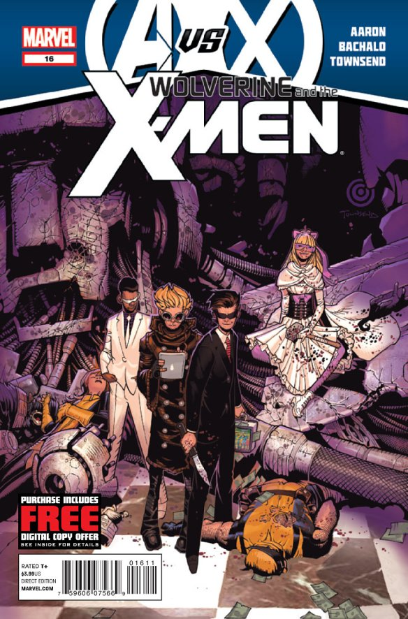 Wolverine and the X-Men Issue 16 Cover