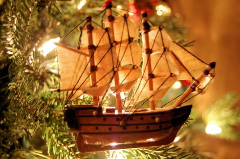 What Navy family's tree isn't complete witout a three masted schooner?