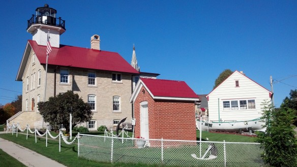 Enjoyed a nice drive on a sunny day to find this historic lighthouse turned to a museum (but it was closed).
