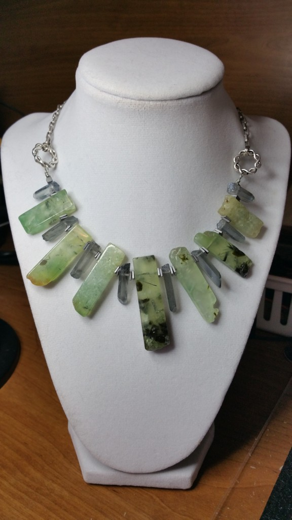 One of my necklaces in my new online store ML's Designs.  This one is called Nature's Beauty.