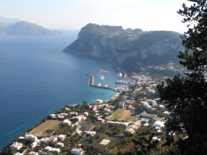 View from Anacapri.