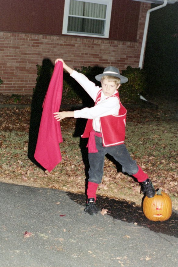 Eklund, Aaron - Bullfighter Halloween.jpg