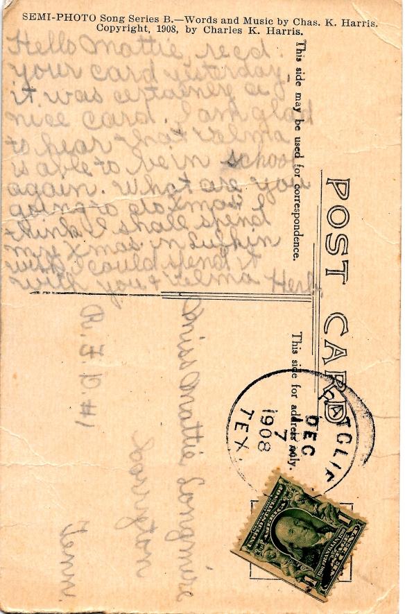 Postcard 3 back