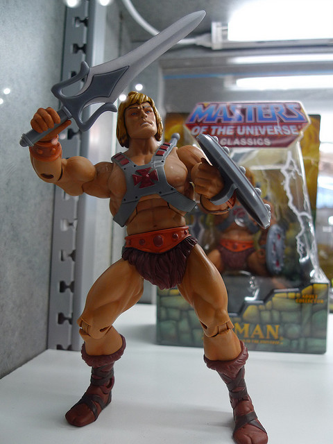 He Man figures at ComicCon Rob Blatt Flickr 12dec15