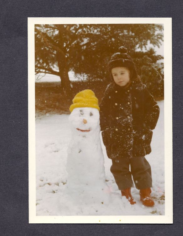 Bright, Mary Louise in snow with brown knit hat (1)
