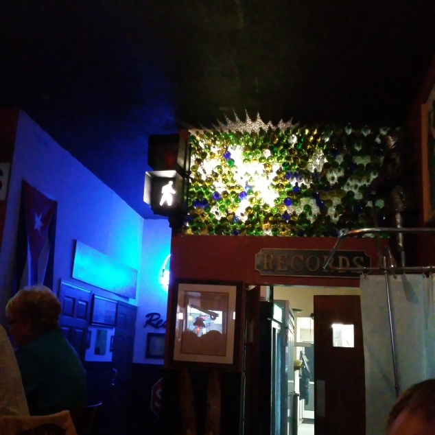 Photo by me interior of Matt's Mainstreet Pub here in Kenosha. It has a US Navy theme which is why we like it. Oh and great food!