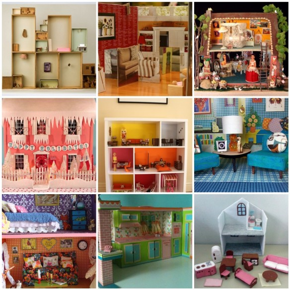 dollhouses by Aimee Ray on flickr 2 May 2016