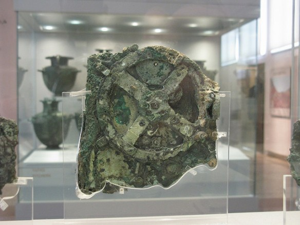 The Antikythera Mechanism by Tilemahos Efthimiadis on Flickr. Used under the Creative Commons Generic Attribution 2.0. Thanks for making this available!