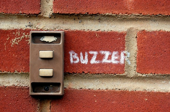 Buzzer by Matthew H on Flickr. He granted use of the photo under Creative Commons Attribution-NonCommercial-NoDerivs 2.0 Generic license.