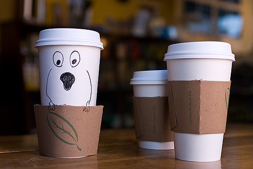 Coffeeshop Prop Humor No. 1 by Pen Waggener on Flickr. Used under the Creative Commons Attribution 2.0 Generic.