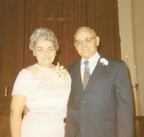 1971 Oscar and Doris Eklund