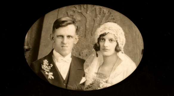 Bride and Groom from the George Eastman Museum on Flickr Commons. Shared as there are no known copyright restrictions