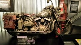 Being a Marvel fan my highlight at the Harley Museum was the original Capt. America bike from the first movie.