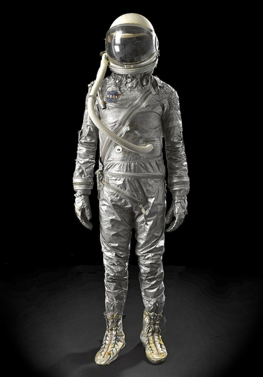 Whoa, I just won a Mercury space suit, the iconic silver wardrobe of our dreams and the first American astronauts. by Steve Jurvetson on Flickr. He gracious granted use under Creative Commons Attribution 2.0 Generic (CC BY 2.0). Thanks Steve and BTW congratulations!