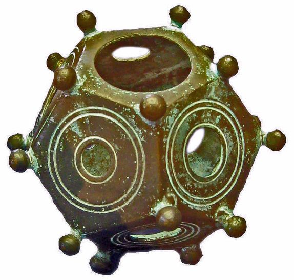 Roman Dodecahedron By Lokilech - Own work, CC BY-SA 3.0